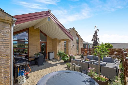 Villa på Koriandervænget i Odense N - Terrasse