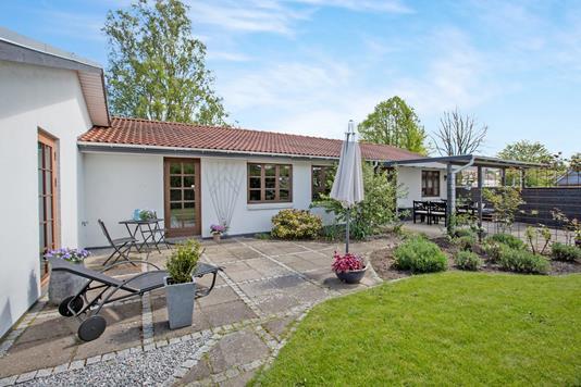 Villa på Thune Nielsens Vej i Odense N - Terrasse
