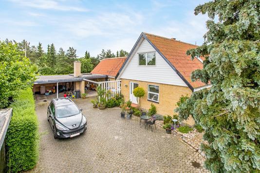 Villa på Sømarksvej i Søndersø - Ejendommen