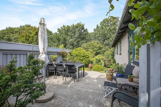 Villa på Næsbygårdsvej i Odense N - Terrasse
