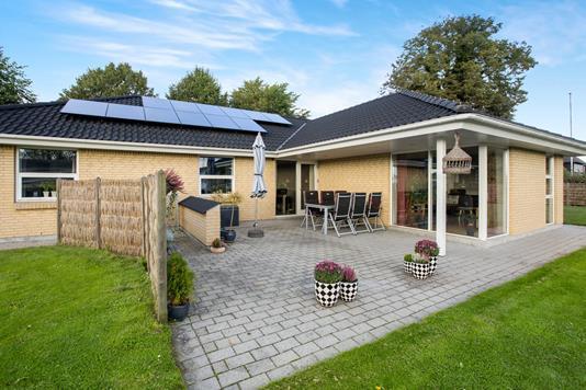 Villa på Søndergårds Alle i Otterup - Terrasse