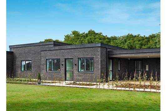 Villa på Gartnerlunden i Odense N - Facade