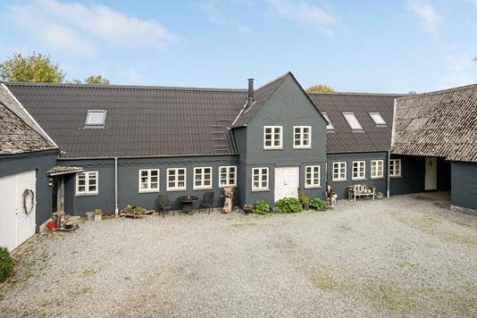 Villa på Ørritslevvej i Søndersø - Ejendommen