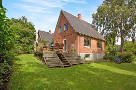 Villa på Svanevej i Tommerup - Ejendommen