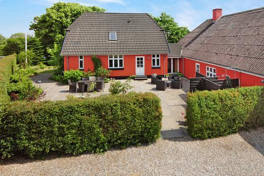 Villa på Allerupvej i Broby - Ejendommen