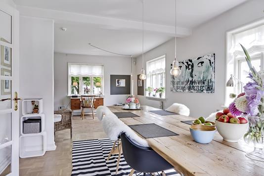 Villa på Søndervej i Broby - Stue