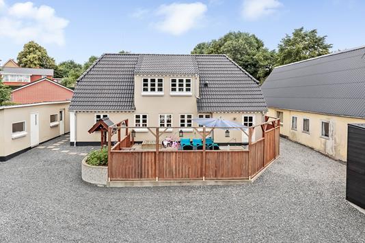Villa på Bystævnevej i Tommerup - Ejendommen