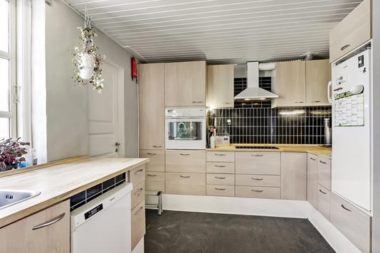 Villa på Bjelkevej i Tommerup - Køkken