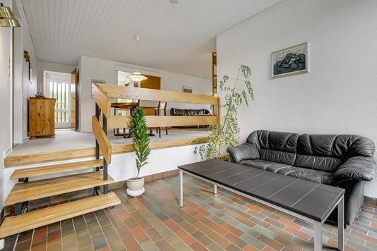 Villa på Ildfuglevænget i Odense S - Stue