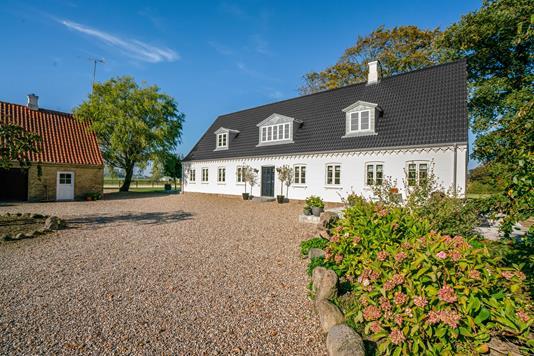 Landejendom på Søgårdsvej i Årslev - Facade bolig