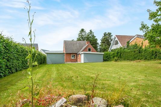 Villa på Møllevej i Otterup - Have