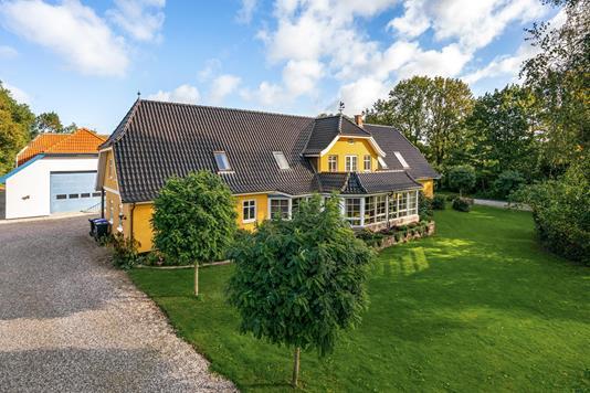 Villa på Branebjerg i Søndersø - Ejendommen