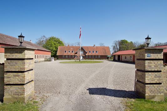 Landejendom på Ølundgyden i Otterup - Ejendommen