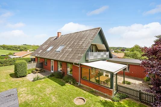 Villa på Grøftebjergvej i Faaborg - Mastefoto