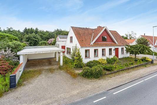 Villa på Assensvej i Millinge - Mastefoto