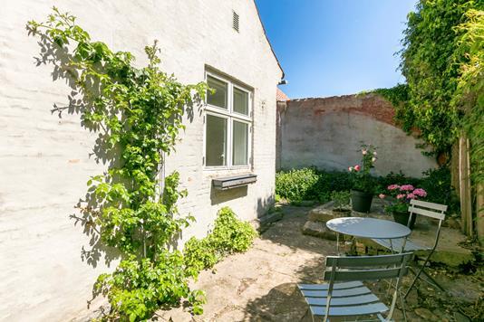 Villa på Kirkestræde i Faaborg - Gårdhave