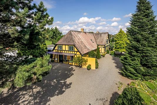 Villa på Vesterågade i Broby - Mastefoto