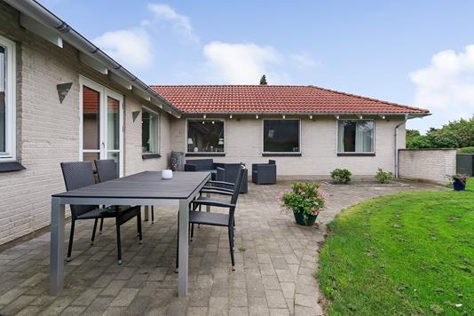 Villa på Hesselhøjvej i Broby - Terrasse