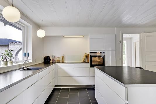 Villa på Hesselhøjvej i Broby - Køkken
