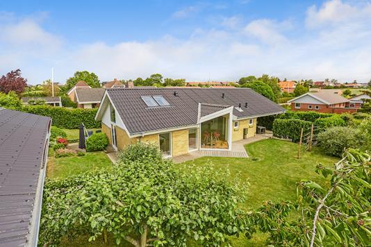 Villa på Margrethevang i Faaborg - Mastefoto