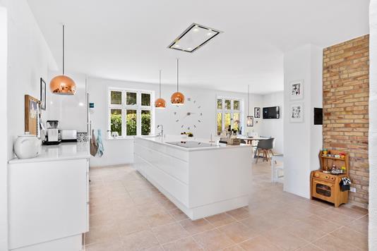 Villa på Assensvej i Millinge - Køkken