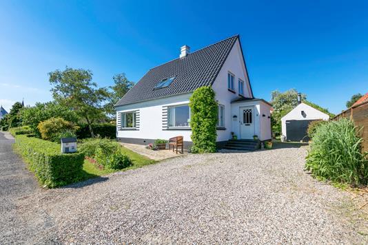 Villa på Kirkevej i Faaborg - Facade