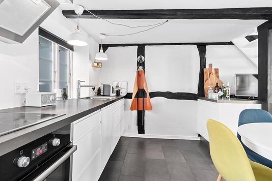 Villa på Kapellanstræde i Faaborg - Køkken