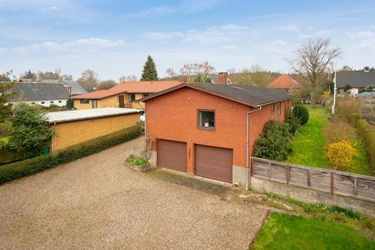 Villa på Assensvej i Faaborg - Set fra vejen