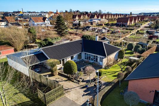 Villa på Mosevej i Faaborg - Luftfoto