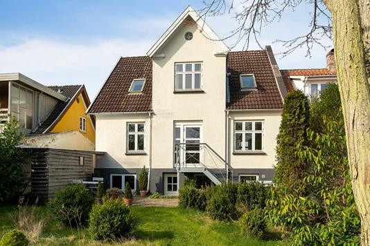 Villa på Priorensgade i Faaborg - Set fra haven