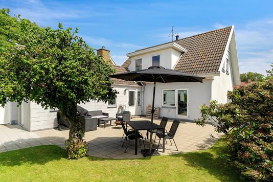 Villa på Strandvejen i Faaborg - Set fra haven