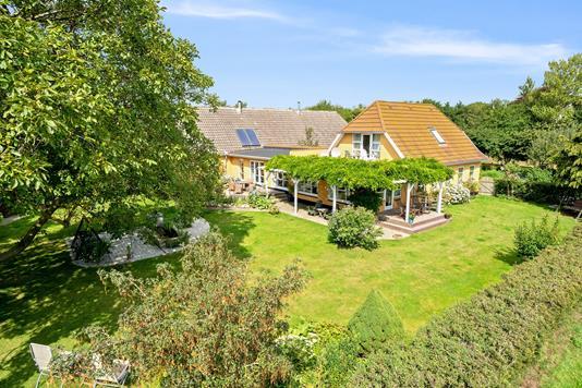 Villa på Bjernevej i Faaborg - Set fra haven