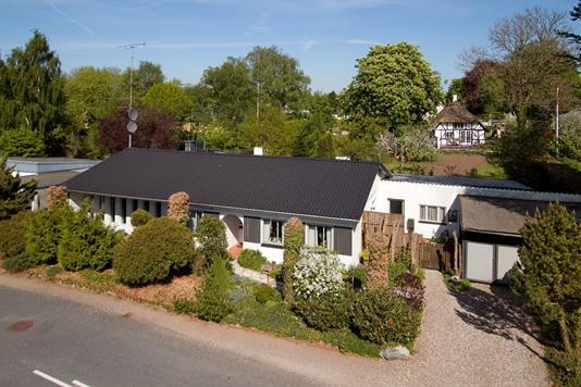 Villa på Bækkevej i Ringe - Facade