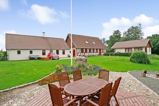 Villa på Klaus Berntsens Vej i Ringe - Terrasse