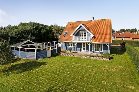 Villa på Rødhøjsvej i Kværndrup - Ejendommen