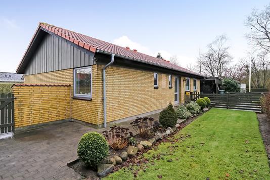 Villa på Banevænget i Ringe - Have