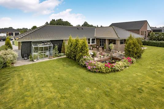 Villa på Engvangen i Ringe - Mastefoto