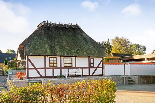 Villa på Bøjden i Årslev - Ejendommen