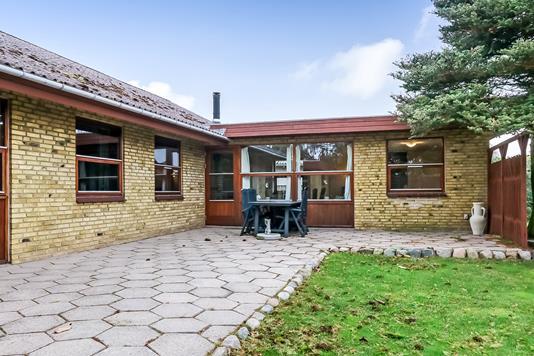 Villa på Birkevej i Ørbæk - Terrasse