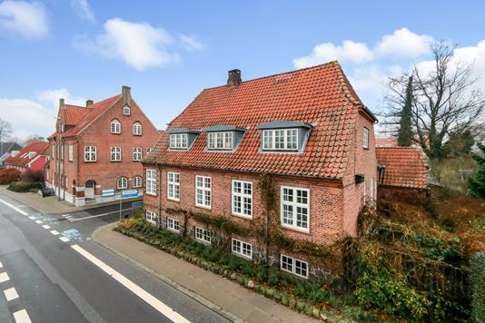Villa på Vestergade i Ringe - Ejendommen