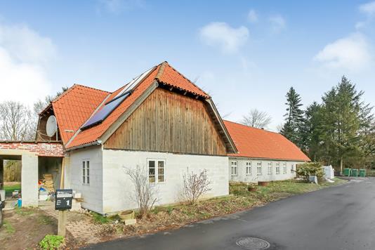 Villa på Hestegangen i Årslev - Ejendommen