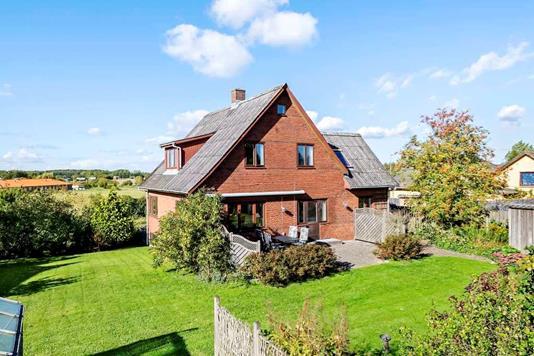 Villa på Nyborgvej i Kværndrup - Set fra haven