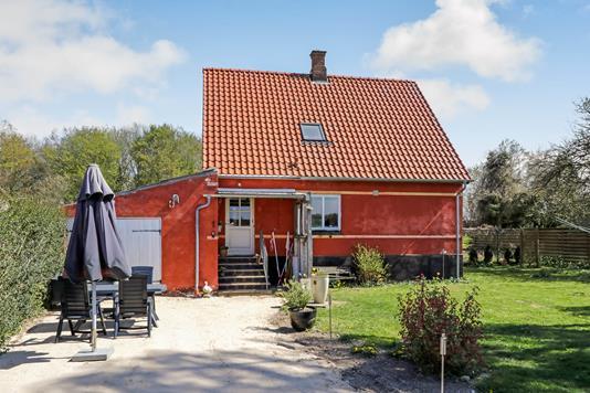 Villa på Agervænget i Årslev - Terrasse