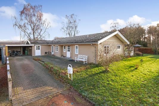 Villa på Funkevænget i Ferritslev Fyn - Indkørsel