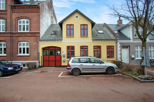 Villa på H.C. Andersens Gade i Odense C - Ejendommen