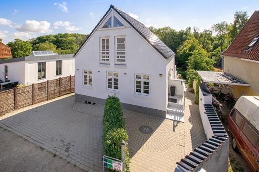 Villa på Skellet i Odense C - Ejendommen