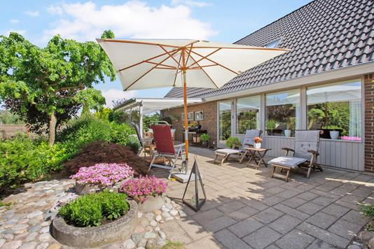 Villa på Kildegårdsvej i Odense NØ - Terrasse