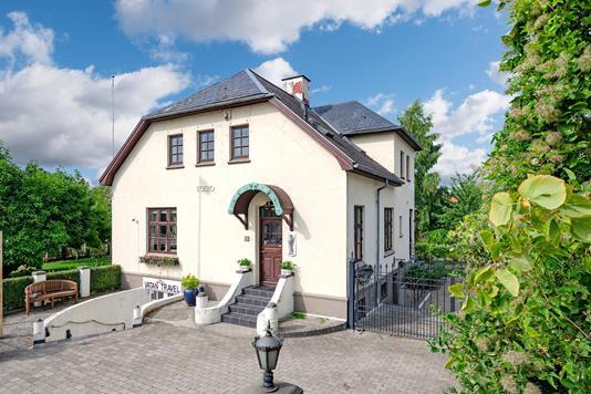 Villa på Åløkke Allé i Odense C - Ejendommen