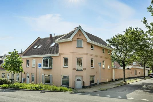 Rækkehus på Skt. Jørgens Gade i Odense C - Ejendommen