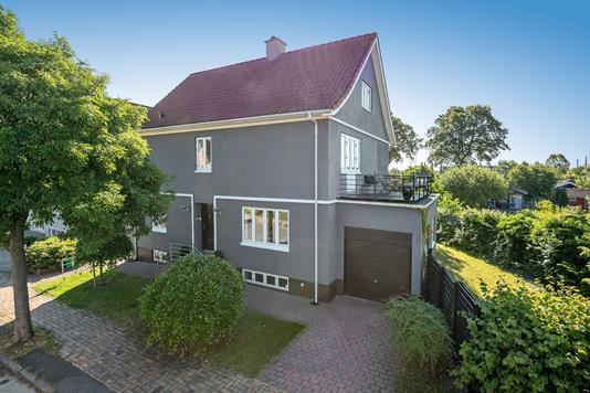 Villa på H. Rasmussens Vej i Odense C - Ejendommen